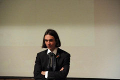 Professor Cedric Villani the Fields Medalist of 2010 Visited Sharif Department of Mathematical Sciences
